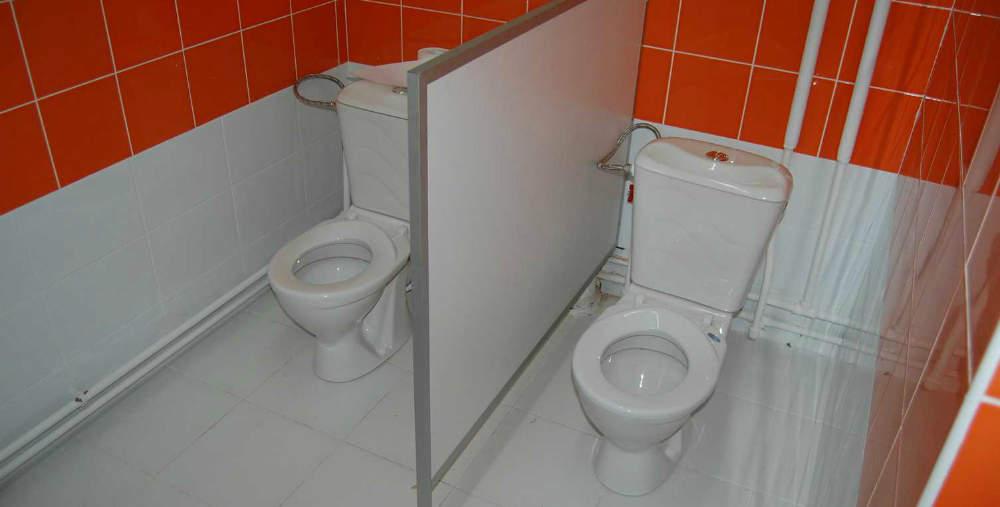 Перегородка для туалета